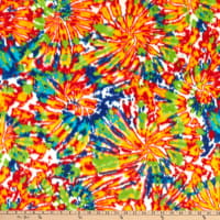 Polar Fleece Fireworks Multi
