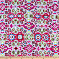 Fabric Merchants Swimwear Nylon Spandex Bohemian Multi