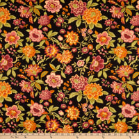 Tarrington Lady J Floral  Black