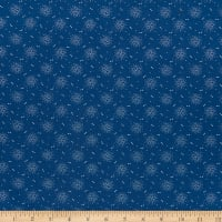 Mood In Blue Dottie Flower Slate Blue