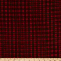 Maywood Studio Woolies Flannel Plaid Red