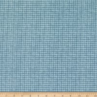 Maywood Studio Woolies Flannel Houndstooth Light Blue