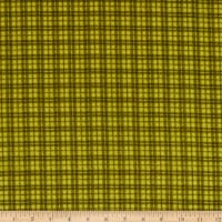 Maywood Studio Woolies Flannel Plaid Green