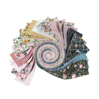 "Poppie Cotton Gingham Farmhouse 2.5"" Strips 40pcs"