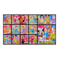 "Loralie Designs Sitting Pretty 24"" Panel Multi"