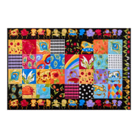 "Loralie Designs Sitting Pretty 24"" Medley Panel Multi"