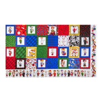 "Loralie Designs Digital Cool School Medley 24"" Panel Multi"