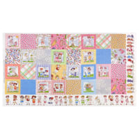 "Loralie Designs Digital You Golf Girl! Medley 24"" Panel Multi"