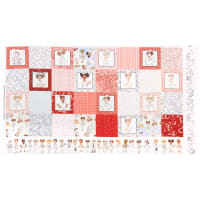 "Loralie Designs Digital Nifty Nurses Medley 24"" Panel Multi"