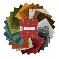 "Maywood Studio Heritage Woolies Flannel 5"" Charm Packs Multi 42pcs"