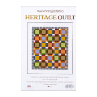 Maywood Studio Kit Heritage Woolies Flannel Quilt Kit Multi