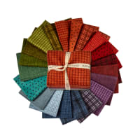 "Maywood Studio Woolies Flannel 18"" Fat Quarter Bundle 20pcs"