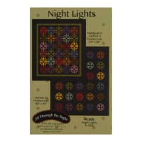 Maywood Studio Color Wash Woolies Flannel Night Lights Quilt Kit