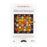 Maywood Studio Color Wash Woolies Flannel Charm Spool Quilt Kit