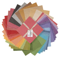 "Maywood Studio Beautiful Basics Classic Check 10"" Squares 42pcs"