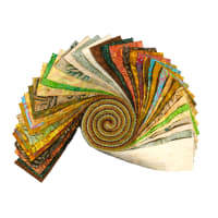 "Maywood Studio Precut Java Batiks 2.5"" Strips (40pcs) Sunburst"