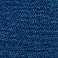European 100% Washed Linen Medium Blue
