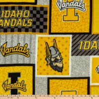 NCAA Idaho Vandals College Patch Fleece Multi
