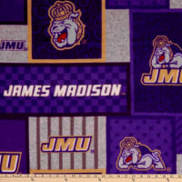 NCAA James Madison Dukes College Patch Fleece Multi