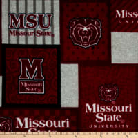 NCAA Missouri State Bears College Patch Fleece Multi