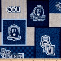 NCAA Old Dominion Monarchs College Patch Fleece Multi