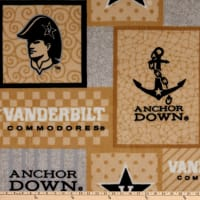 NCAA Vanderbilt Commodores College Patch Fleece Multi