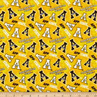 NCAA Appalachian State Mountaineers Tone on Tone Cotton Multi