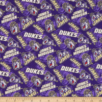 NCAA James Madison Dukes Tone on Tone Cotton Multi