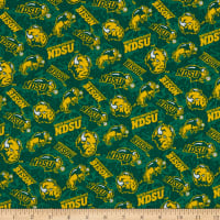 NCAA North Dakota State Bison Tone on Tone Cotton Multi