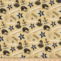NCAA Vanderbilt Commodores Tone on Tone Cotton Multi