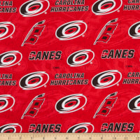 NHL Carolina Hurricanes Tone on Tone Cotton Multi
