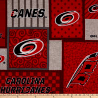 NHL Carolina Hurricanes Patch Fleece