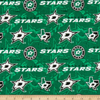 NHL Dallas Stars Tone on Tone Cotton Multi