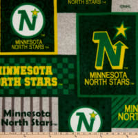 NHL Minnesota North Stars Patch Fleece Multi