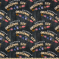 NHL Original Six Stars Logo Cotton Multi