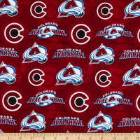 NHL Colorado Avalanche Tone on Tone Cotton Multi
