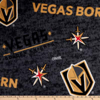 NHL Vegas Golden Knights Vegas Born Allover Fleece Multi