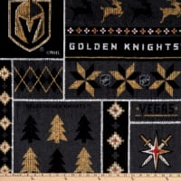 NHL Vegas Golden Knights Ugly Sweater Fleece Multi