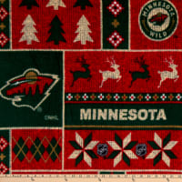 NHL Minnesota Wild Ugly Sweater Fleece Multi