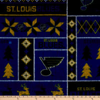 NHL St. Louis Blues Ugly Sweater Fleece Multi