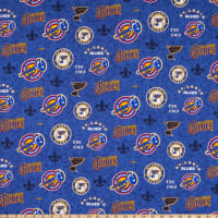 NHL St. Louis Blues Throwback Logo Multi