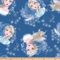 Disney Frozen 2 Fleece Elsa Toss Blue