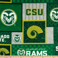 NCAA Colorado State Rams College Patch Fleece
