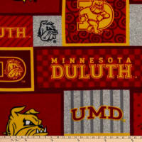 NCAA Minnesota Duluth Bulldogs College Patch Fleece