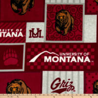 NCAA Montana Grizzlies College Patch Fleece