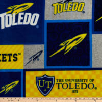 NCAA Toledo Rockets College Patch Fleece