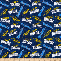NCAA Toledo Rockets Tone on Tone Cotton