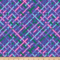 Kaffe Fassett Collective Mad Plaid Blue