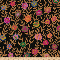 Kaffe Fassett Collective Busy Lizzy Black