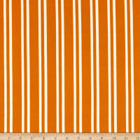 Fabric Merchants ITY Stretch Jersey Knit Double Vertical Stripe Mustard